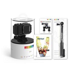 PACK CAMERA SPORT Activeon Pack BCC03HS CX Option 3 avec caméra de s