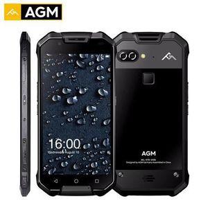 SMARTPHONE Noir Original AGM X2 IP68 étanche 5.5 pouces FHD é