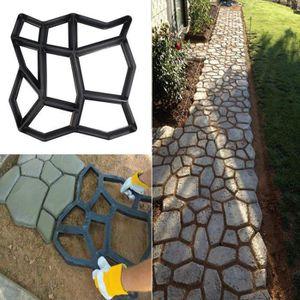 CARRELAGE - PAREMENT Chemin Maker moule réutilisable ciment béton Pierr