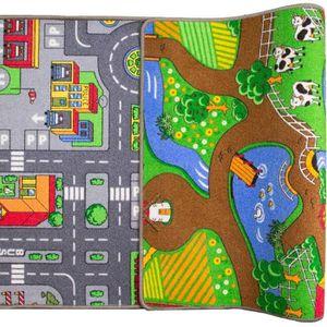 TAPIS DE JEU Tapis de Jeu Enfant Résersible 80x150