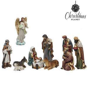 CRÈCHE DE NOËL Crèche de Noël Christmas Planet 6838 25 cm (11 pcs