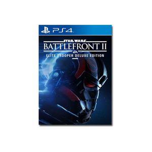 JEU PS4 Star Wars Battlefront II: Elite Trooper Deluxe Edi