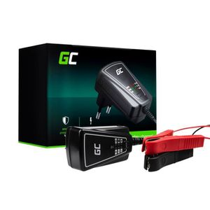 CHARGEUR DE BATTERIE Chargeur Intelligent Rapide de Batterie Auto Voitu
