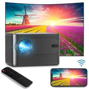 Vidéoprojecteur 2019 VIDEOPROJECTEUR 4K Portable LED 3D HD 1080P H