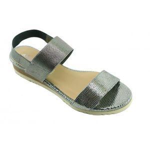 SANDALE - NU-PIEDS Janelle – Sandale élastiqué chaussures femme nu-pi