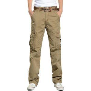 881be9563df7 PANTALON Pantalon Cargo Homme Regular Straight en Coton Cas