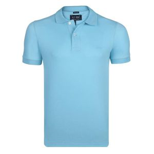 POLO Armani Jeans Homme Polo Turquise Muscle Fit