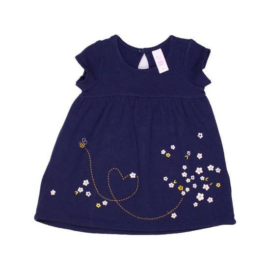 4e215be134e Vêtement Été Mois amp a 12 C 952258 Robe Bébé Bleu Fille 0xqW87