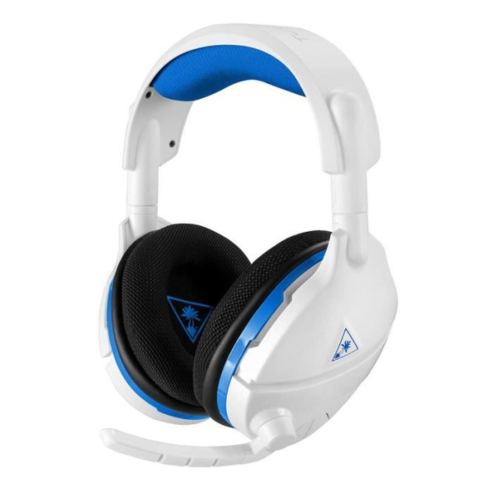 TURTLE BEACH Casque gamer Stealth 600 pour PS4 Blanc (compatiblePS4 Pro, PC, Nintendo Switch) - TBS-3035-02