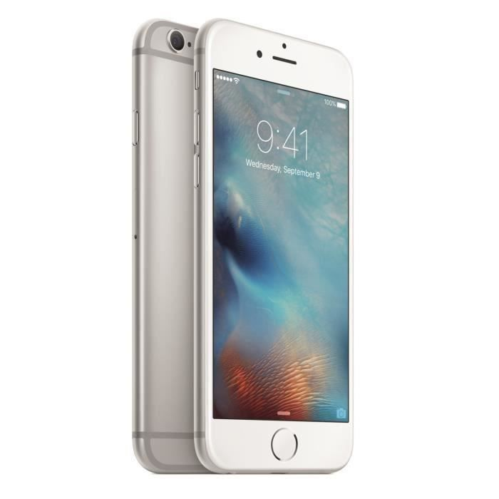 APPLE iPhone 6S Silver 16 Go Reconditionné - Achat smartphone recond ... bfb324eac904