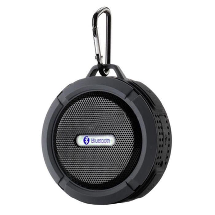 Portable Bluetooth Waterproof Haut-parleur Sans Fil D'aspiration Douche Mains Libres