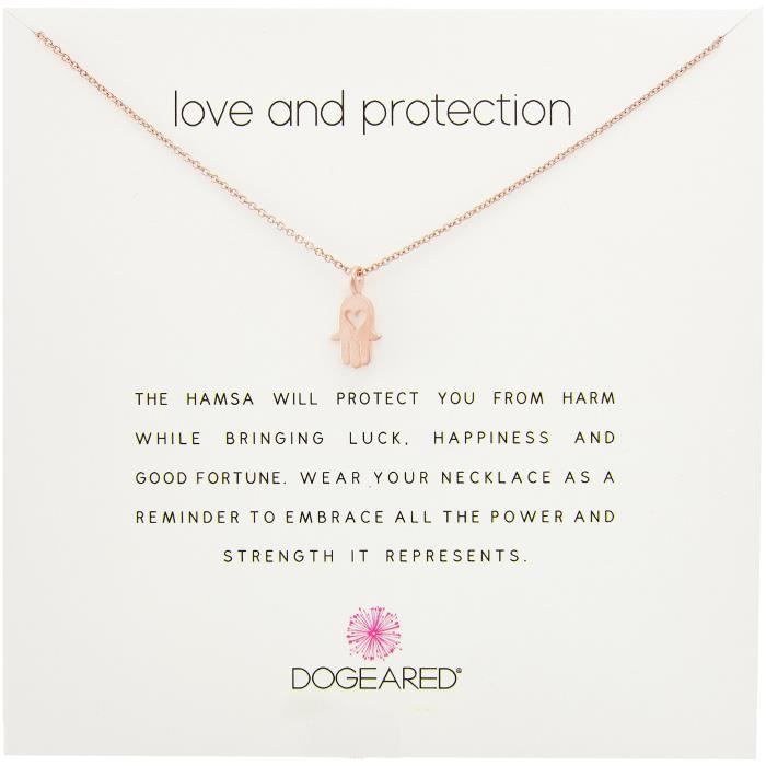 Dogeared Love Protection Pendant Necklace, 18 VIKEL