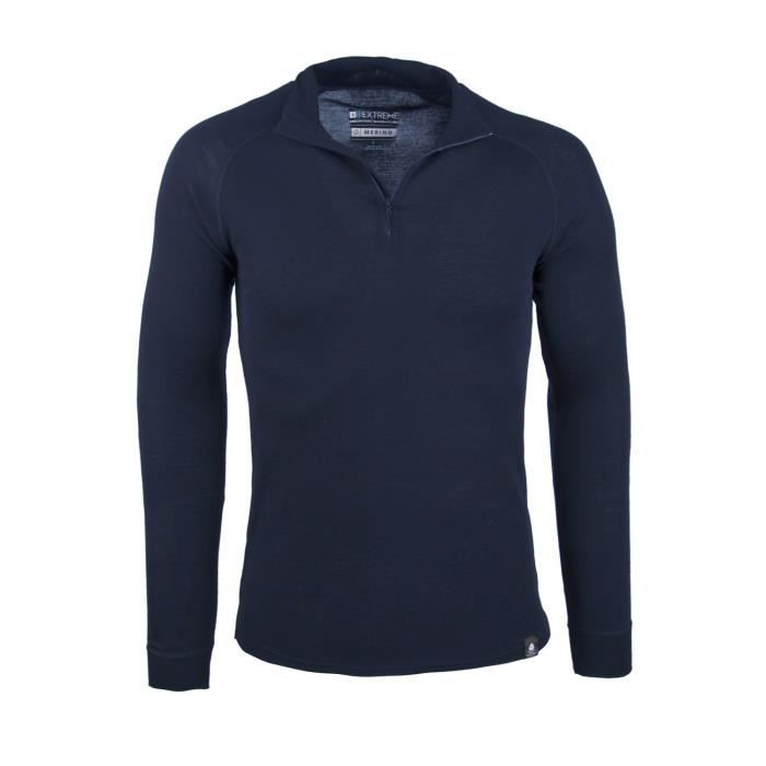 Polos respirants à manches longues Mountain Warehouse gris homme 4ibsZov3