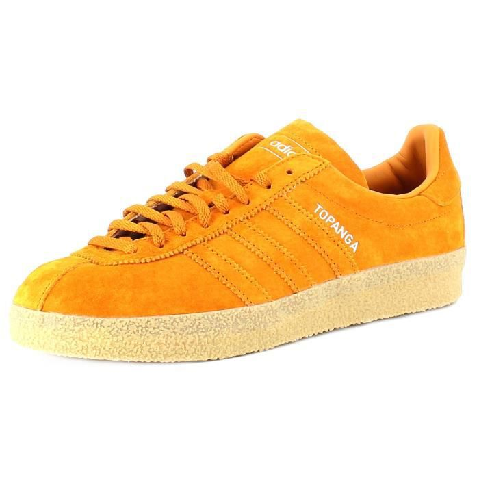 Adidas Topanga Chussures de Sport Jaune Jaune Achat
