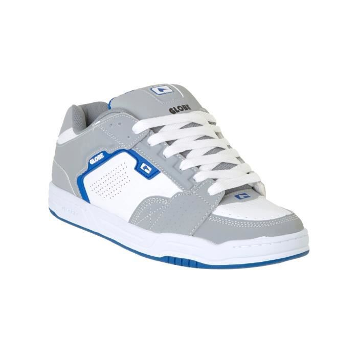 Chaussure Globe Scribe Gris-Blanc-Bleu