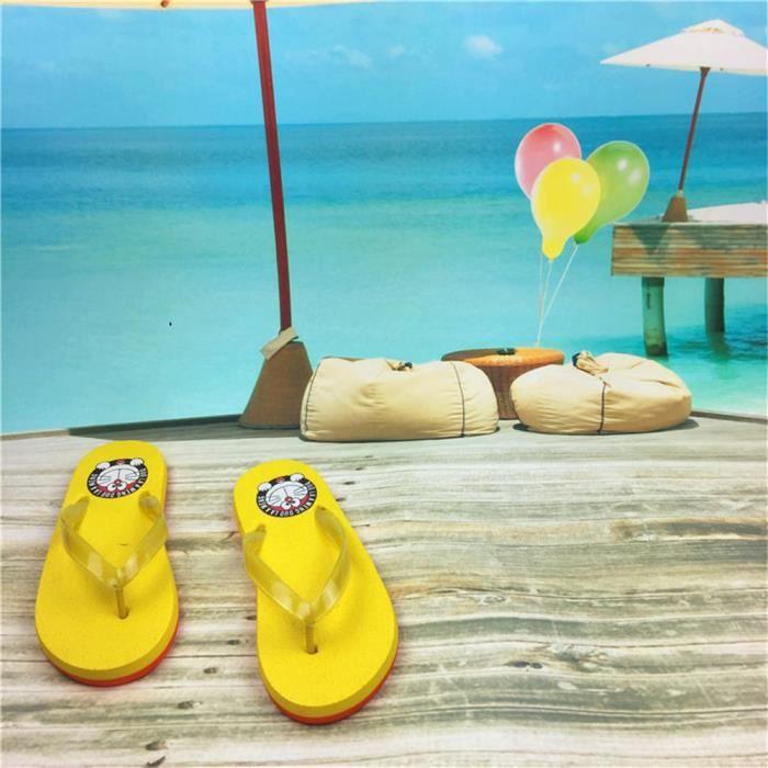 Femme Pantoufles Nouveau Marque De Luxe Haut qualité Super Durable été Pour plage Confortable Respirant Pantoufle Plus Taille 35-39
