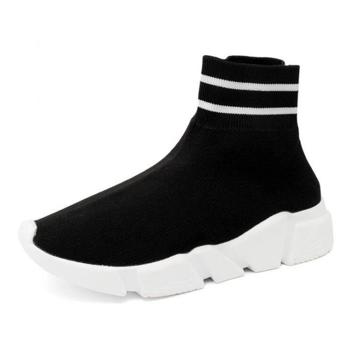 30afacfd3db Basket Homme Femme Chaussures de sport Running chaussure 2018 Nouveau  tisser une étoffe