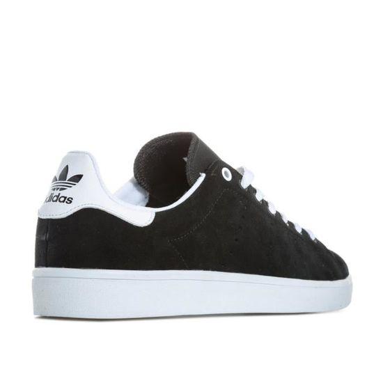 Baskets Vulc adidas Originals Stan Smith Vulc Baskets pour homme en noir. Noir Noir - Achat / Vente basket a4ed3e