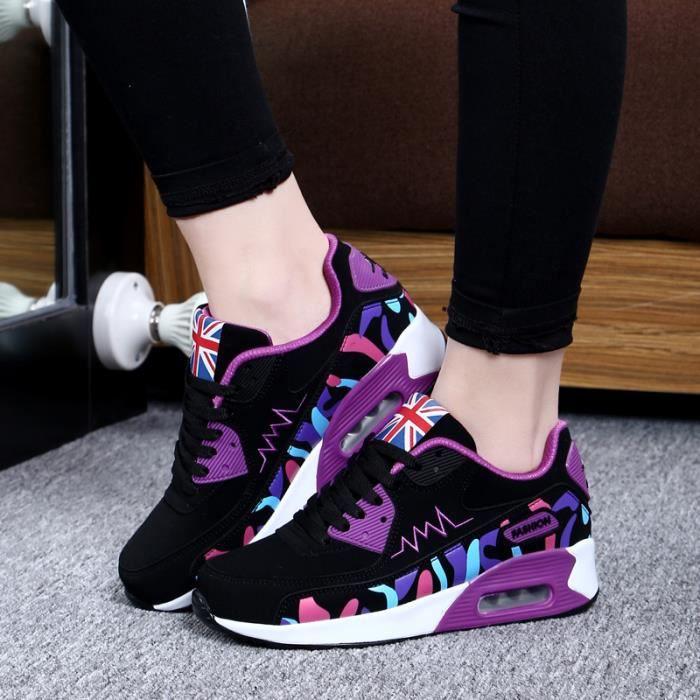 Respirant Sneakers Exquis Nouvelle Femmes De Chaussure Sport Mode Classique Sf PO1xtwaa