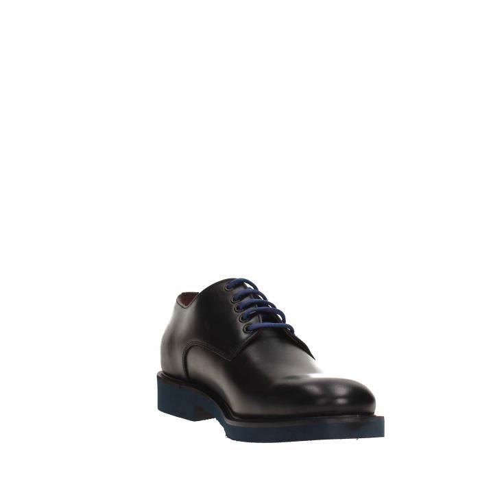 Frau Verona Chaussures à Lacets Homme BLACK, 45