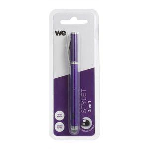 WE Stylet Pour Surfaces Tactiles Avec Stylo - Violet