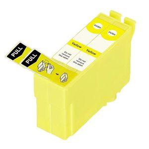 CARTOUCHE IMPRIMANTE 2 Jaune Compatible Encre Cartouches Pour Epson T34