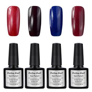 VERNIS A ONGLES Lot 4 Vernis Semi Permanent Gel Polish Manucure 7.