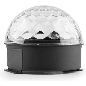 BOULE A FACETTES MAX Magic Jelly Boule disco DJ jeux de lumière LED