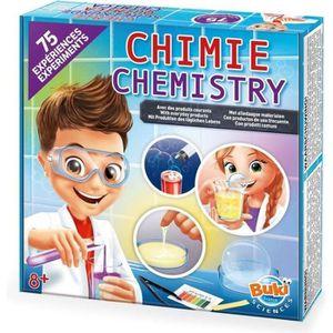 EXPÉRIENCE SCIENTIFIQUE Buki chimie 75 expériences