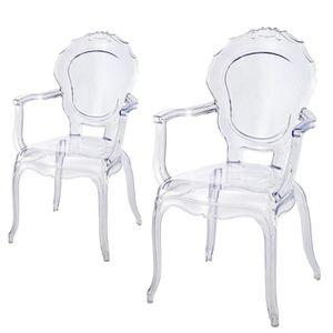lot de 2 fauteuil polycarbonate transparent epur Résultat Supérieur 1 Merveilleux Petit Fauteuil Design Und Chaise Discount Pour Deco Chambre Image 2017 Lok9