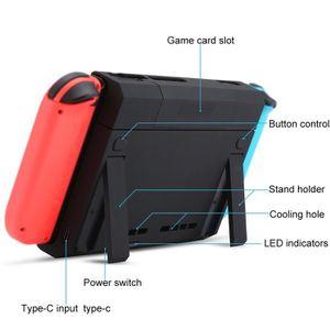 DOCK DE CHARGE MANETTE Power Bank pour Nintendo Switch 6500mAh Batterie E