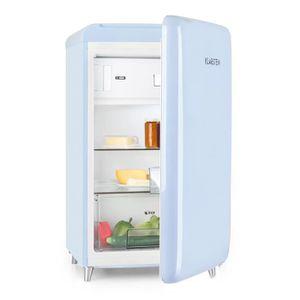 RÉFRIGÉRATEUR CLASSIQUE Klarstein Pop Art Réfrigérateur style rétro 108l c