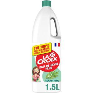 LIQUIDE VAISSELLE LACROIX Eau de javel parfum eucalyptus - 1,5L