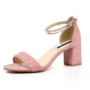 SANDALE - NU-PIEDS Femme Chaussure Sandal Mode talon haut 2017