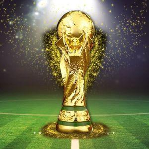 TROPHÉE - MÉDAILLE 21cm Trophée Résine Réplique Coupe du Monde de Foo