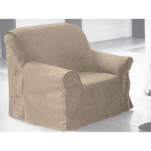 Housse fauteuil achat vente housse fauteuil pas cher for Housse de fauteuil