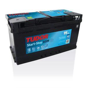 BATTERIE VÉHICULE Batterie Start-stop AGM TUDOR TK950 12V 95Ah 850A