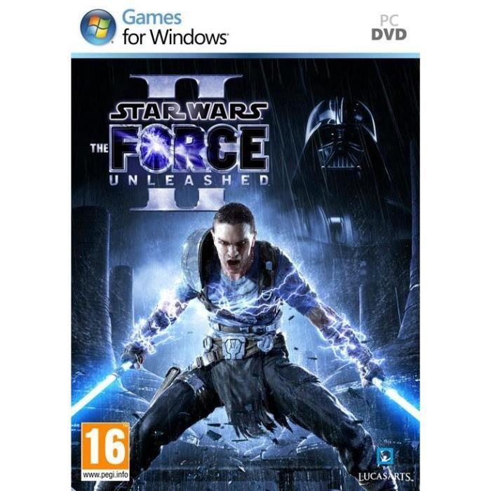 JEU PC STAR WARS LE POUVOIR DE LA FORCE 2 / PC