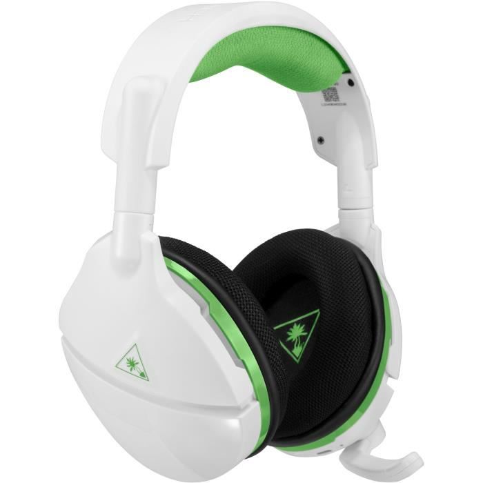 TURTLE BEACH Casque gamer 600X Stealth pour Xbox One Blanc (compatible Windows 10) - TBS-2035-02