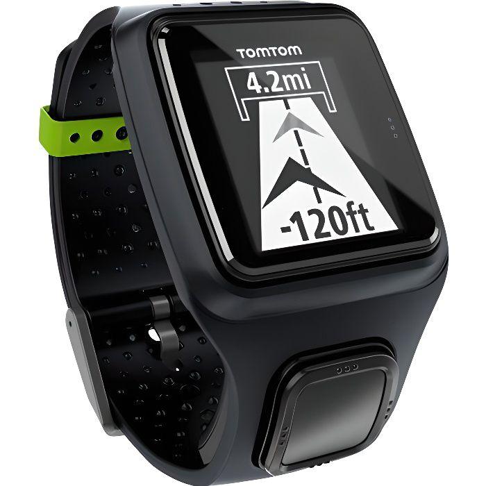 MONTRE CONNECTÉE TOMTOM Montre connectée de Sport GPS Runner - Noir