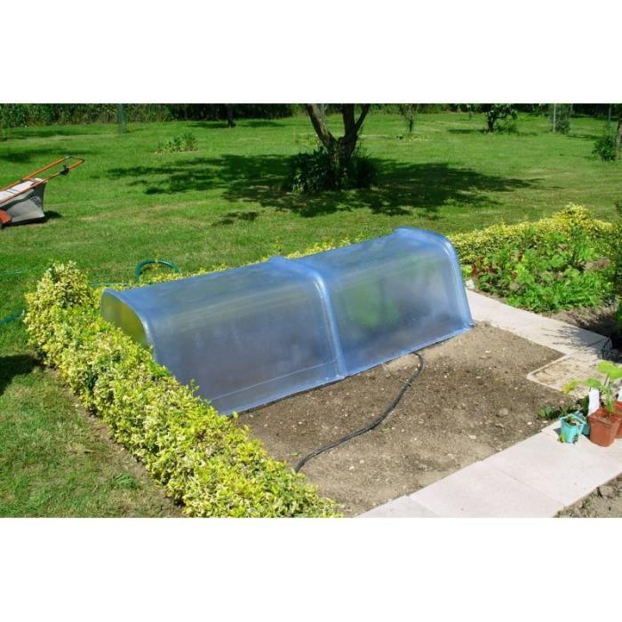 Mini-serre en résine et fibre de verre pour le jardinage - L 100 x l ...