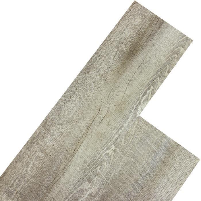 stilista® lame de sol pvc, pack 20m², antidérapant, imperméable à l