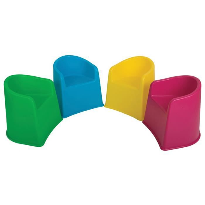 Chaises à remous pour enfants 4 couleurs, Dim : 47 x 39 x 39 cm ...