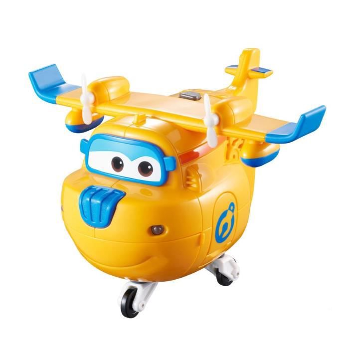 FIGURINE - PERSONNAGE SUPER WINGS Avion Transformable parlant Figurine -