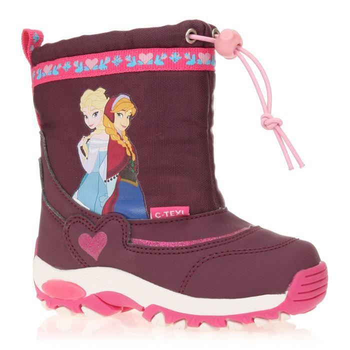 fa9026c5e5707 FROZEN - LA REINE DES NEIGES Bottes de Neige Chaussures Enfant Fille ...