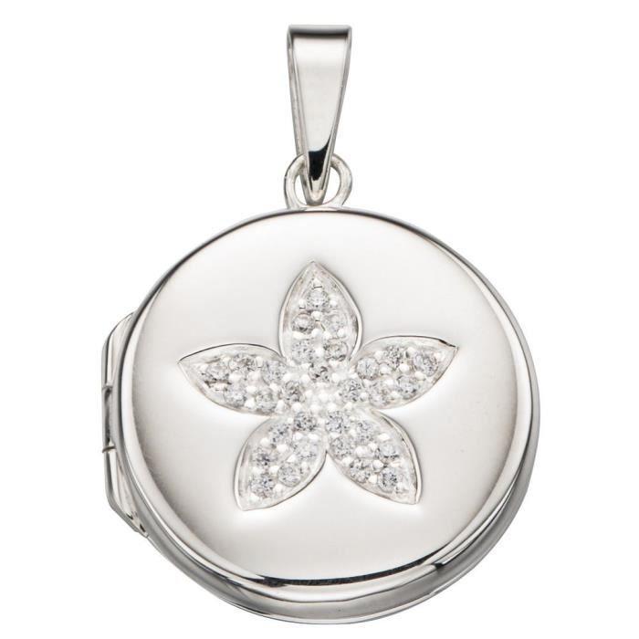 Mon-bijou - D4265c - Collier chic photo pendentif en argent 925-1000