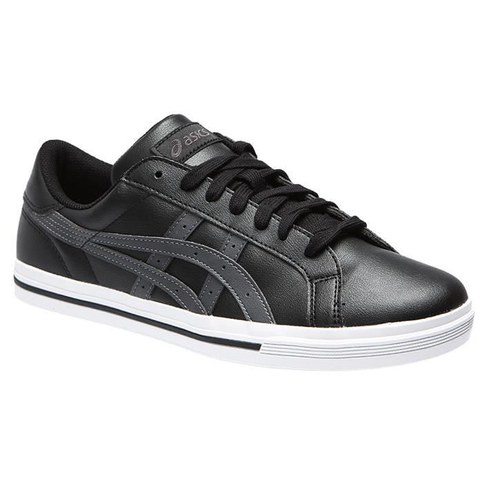 Asics Classic tempo white/blk Blanc - Chaussures Baskets basses Homme