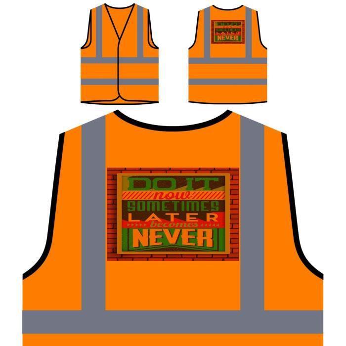 Protection Personnalisée Results Now Do À De inspiration Novelty It Orange Haute Visibilité Veste Person tqx5Fw