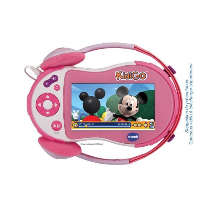 vtech lecteur multim dia kidigo rose achat vente mp3. Black Bedroom Furniture Sets. Home Design Ideas