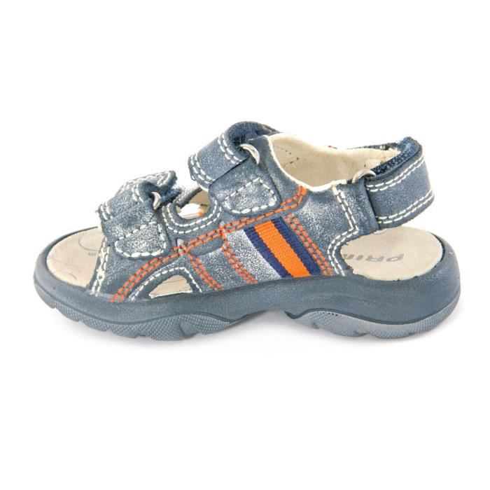 Primigi Sandales PetitGarçon Velcro Cuir Bleu 29422 NtNtB